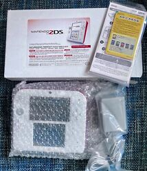 Nintendo 2ds Scarlet Red / White Ds Console Factory Refurbished Ready To Ship