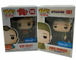 Lot Of 2 Funko Pop Movies Bill Murray As Bob Wiley 996 And John Winger 1001