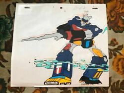 Vintage Difficult To Find Robot Anime Armored Fleet Die Lager Xv Japan Cel Genga
