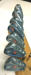 Rare Authentic New Itobori Mxh Blue Forged Iron Set 4-pw .370 Hosel Heads Only