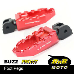 Buzz Front Highway Footpegs For Ducati Monster S2r 1000 07-08