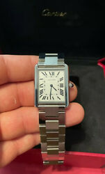 New Tank Solo Large W5200014 Stainless Steel Box And Papers
