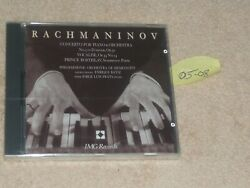 Brand New Rachmaninov Cd / Concerto For Piano And Orch. / Jorge Luis Prats / Img