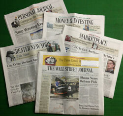 All-access Wall Street Journal 1-year Print And Digital Subscription Fast Delivery