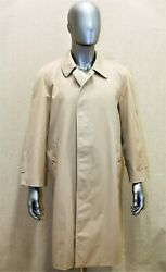 Trench Impermandeacuteable And039s Vintage 70 Raglan 48 Reg Beige Made In England