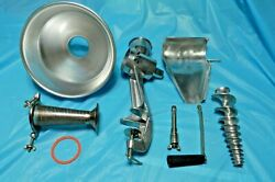 Garden Way Squeezo Ii Strainer 400-ss As Pictured Fine Screen Only No Pusher