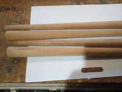 Set Of 4 Tapered Unfinished Wood 27 Mid Century Modern Furniture Table Legs