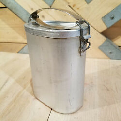 Markill Wwii Aluminum Food Container German Military Wehrmacht Vtg - Swanky Barn