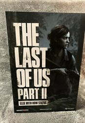 The Last Of Us Part Ii 12 Dark Horse Ellie With Bow Statue Brand New