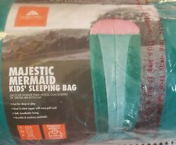 Ozark Trail Pink Girl Youth Teepee Sleeping Bag 5ft 6in By 2ft 9in New T81 Read