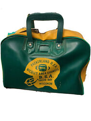 1960s Vintage Packerland Green Bay Wisc Green Bay Packers Utility Bag.🏈
