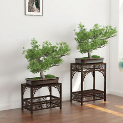 Tecspace Metal Plant Stand Chinese Traditional Plant Table For Home Decoration