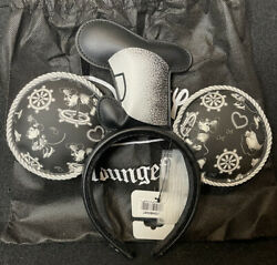 Loungefly Disney Steamboat Willie Appliquandeacute Hat Rope Piping Ears Headband New