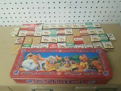 Vintage Camel And Winston Cigarettes Matchbooks Complete With Matches 45 And Tin