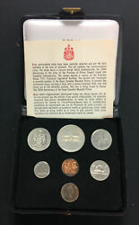 1973 Royal Canadian Mint Double Penny Uncirculated Coins Set Ooak