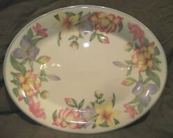 Royal Doulton Expressions Blooms 13 Oval Serving Platter