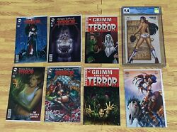 Grimm Tales Of Terror Volume 1 Set - 51 Covers Variants Pgx Cgc Incentives Fairy