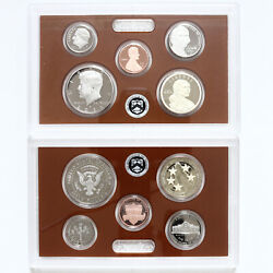 2021 S Partial Proof Set Kennedy Dime Nickel Cent Dollar Cn-clad Us Mint 5 Coins