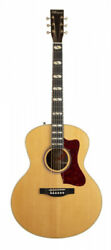Norman St68 Mini Jumbo Natural Anthem Inkl. Deluxe Tric Case