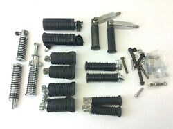 Mixed Lot Harley Davidson Foot Rests Pegs Motorcycle Parts Used