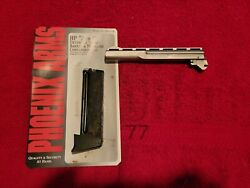Phoenix Arms Hp22a Conversion Kit 22lr Nickel 5 Silver Barrel Extended 10rd Mag
