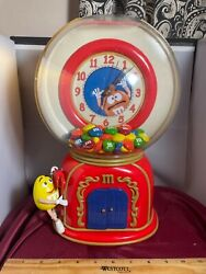 Rare Time For M And Mand039s Candy Machine Cuckoo Clock Works See Video