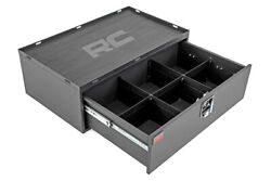Rough Country Metal Lockable Storage Box For 2018-2021 Jeep Wrangler Jl - 99030