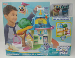 Puppy Dog Pals Doghouse Playset With Bingo And Rolly Disney Junior New
