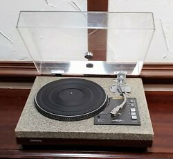Beautiful Sharp Optonica Rp-3636 Turntable Works Great Packing Will Be Amazing