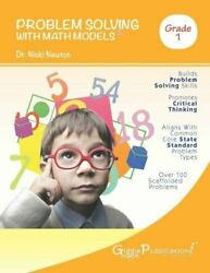 Problem Solving With Math Models First Grade Bw By Nicki Newton