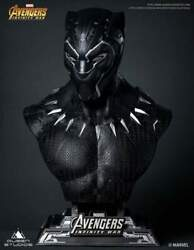 Queen Studios The Avengers Black Panther 1/1 Scale Life-size Bust 566/600