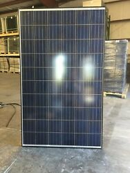 Pallet Of Used Canadian Solar Panels 250 Watts...free Shipping