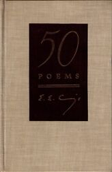 50 Poems By Ee Cummings 1940 Cloth 28 Of 150 Signed 1st Edition Slipcase