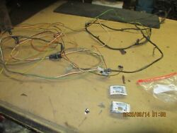 1970 Pontiac Gto Convertible Rear Side Trim Panel Courtesy Lights And Harness
