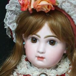 Closed Perfect Antique One-of-kind Jumeau Bisque Doll F/s From Japan