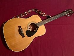 Yamaha Fg-180 Nippon Gakki Red Label Acoustic Guitar 1960's/1970's Made In Japan