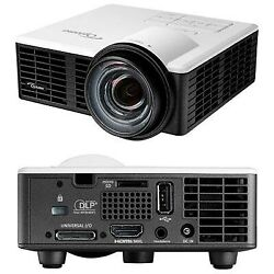 New Optoma Ml750st Dlp Projector Short Throw Led