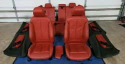 Bmw F30 Red Seats And Door Cards Lci F30 335i 328i Interior M Sport Package