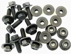 Body Bolts And Flange Nuts M6-1.0mm X 20mm Long- 10mm Hex 10 Ea 1906/1924 2120