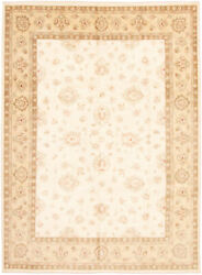 Vintage Hand-knotted Carpet 9'1 X 12'1 Traditional Oriental Wool Area Rug