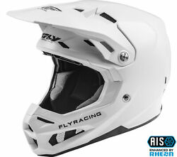 Fly Racing Formula Solid White Motocross Mx Offroad Helmet All Sizes