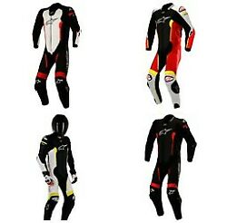 Alpinestars Motorcycle Missle Leather Suit Tech-air Compatible Pick Color And Size