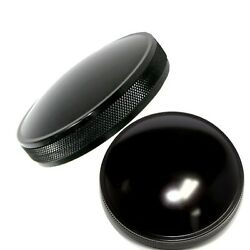 Motorcycle Gas Caps For Harley Davidson Years 1973 To 1982 - Domed Series Black