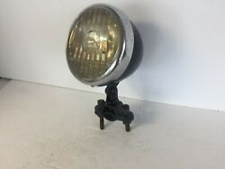 Working Headlight Motorcycle Car Driving Lamp With Bracket Delta Paralite