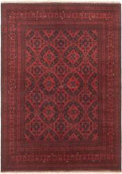 Vintage Hand-knotted Carpet 6and0399 X 9and0395 Traditional Oriental Wool Area Rug
