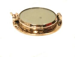 New Vintage Style Marine Ship Brass Porthole Window With Mirror Glass Lot Of 10