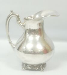 Vintage Sterling Silver Water Pitcher .925avalos Hecho Mexico