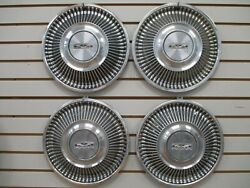1968 Ford Fairlane Falcon Wheelcover Wheel Covers Hubcaps Oem Set 68