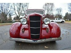 1935 Dodge Grill With Crank Hole Cover And Perfect Trim Horizontal Bars
