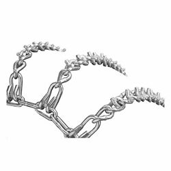 Oregon 67-005 Set Of 2 Link Tire Chains 18x850-8 Ayp Laclede Murray Ch11 Ch12